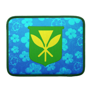 Kanaka Maoli Blue Honu MacBook Air Sleeves