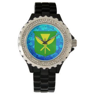 Kanaka Maoli Blue Honu Wristwatch