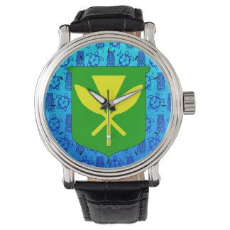 Kanaka Maoli Blue Tiki Watches