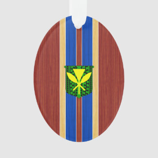 Kanaka Maoli Fake Wood Surfboard