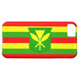 Kanaka Maoli Flag Case For iPhone 5C