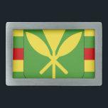 "Kanaka Maoli Flag - Hawaiian Independence Flag Belt Buckle<br><div class=""desc"">Kanaka Maoli Flag - Hawaiian Independence Flag</div>"
