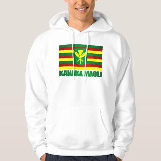 Kanaka Maoli Flag Hoodie