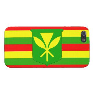 Kanaka Maoli Flag iPhone 5/5S Case