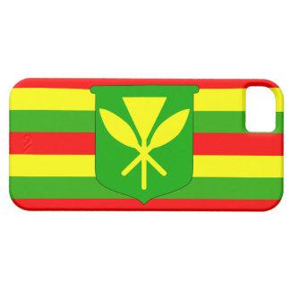 Kanaka Maoli Flag iPhone 5 Cases