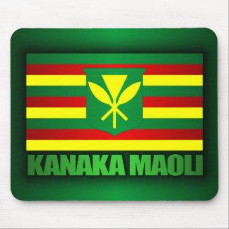 Kanaka Maoli Flag Mouse Pad
