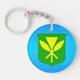 Kanaka Maoli Keychain