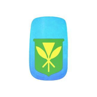 Kanaka Maoli Minx Nail Wraps