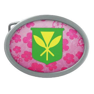 Kanaka Maoli Pink Honu Belt Buckles