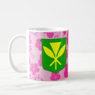 Kanaka Maoli Pink Honu Coffee Mug