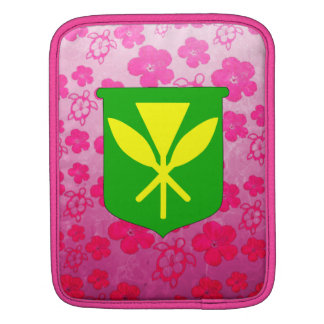 Kanaka Maoli Pink Honu Sleeve For iPads