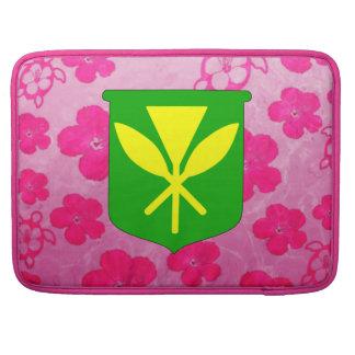 Kanaka Maoli Pink Honu Sleeves For MacBooks