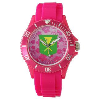 Kanaka Maoli Pink Honu Wristwatch