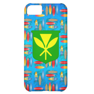 Kanaka Maoli Surfboards Cover For iPhone 5C