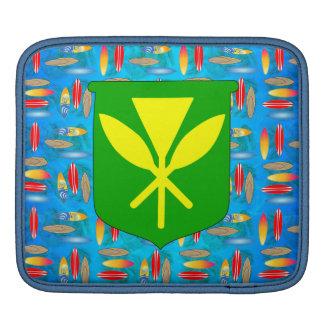 Kanaka Maoli Surfboards iPad Sleeve