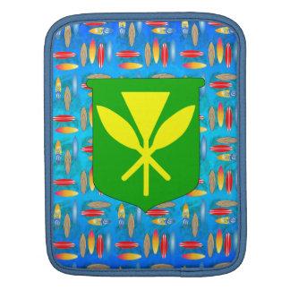 Kanaka Maoli Surfboards iPad Sleeves