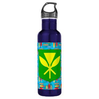 Kanaka Maoli Surfboards Stainless Steel Water Bottle