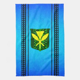 Kanaka Maoli Tribal Hand Towel