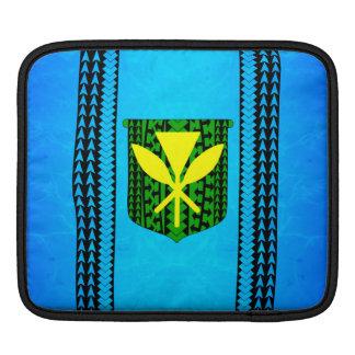 Kanaka Maoli Tribal iPad Sleeve