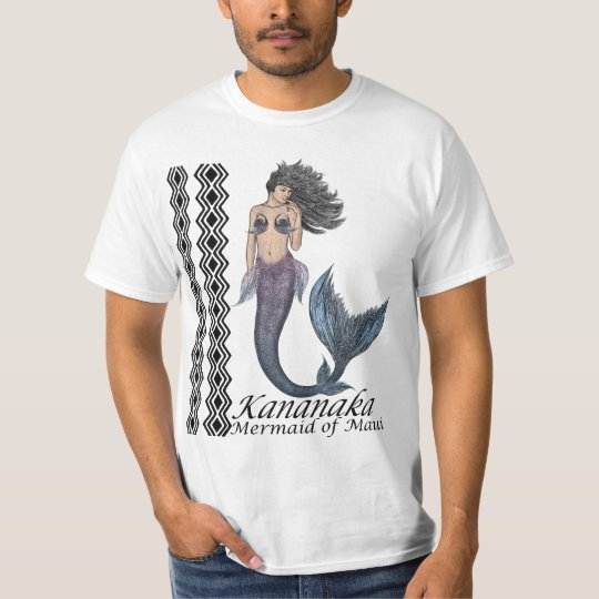 Kananaka Mermaid of Maui T-Shirt
