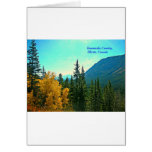 Kananaskis Country Canada God's Country! Greeting Cards