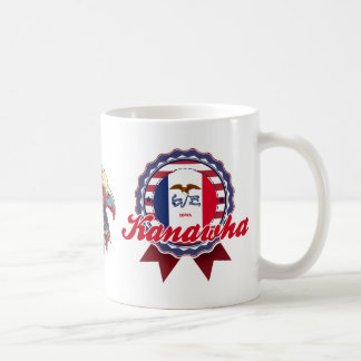 Kanawha, IA Classic White Coffee Mug