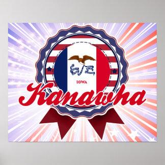 Kanawha IA Print