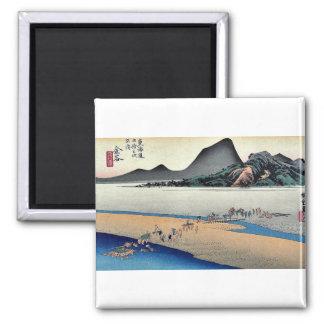 Kanaya por Ando, Hiroshige Ukiyoe Iman Para Frigorífico