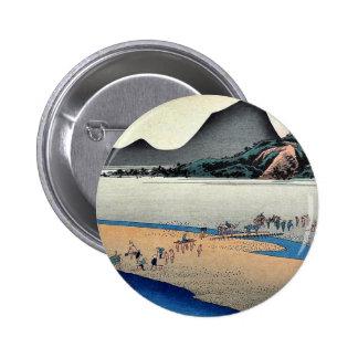 Kanaya por Ando, Hiroshige Ukiyoe Pins
