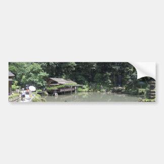 Kanazawa Pegatina De Parachoque