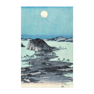 Kanazawa Full Moon 1857 Middle Canvas Print