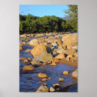 Kancamagus River New Hampshire Poster
