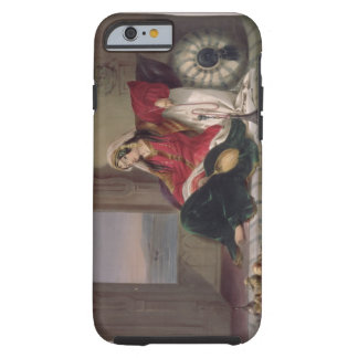 Kandahar Lady of Rank, Engaged in Smoking, plate 2 Tough iPhone 6 Case