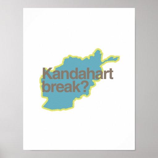 KANDAHART BREAK.png Print