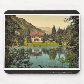 Kander Valley, Blausee, and pension, Bernese Oberl Mouse Pads