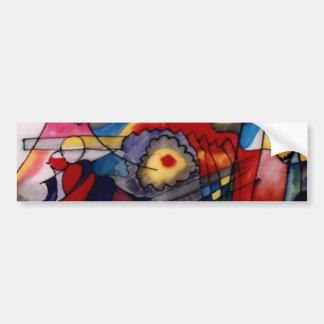 Kandinsky 1913 Abstract Painting Car Bumper Sticker