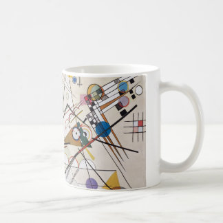 Kandinsky 1923/composition viii/pixdezines coffee mug
