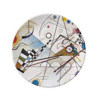 Kandinsky 1923/composition viii/pixdezines platos de cerámica
