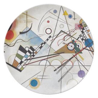 Kandinsky 1923/composition viii/pixdezines platos de comidas