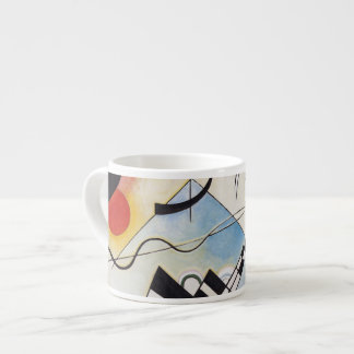 Kandinsky 1923/composition viii/pixdezines 6 oz ceramic espresso cup