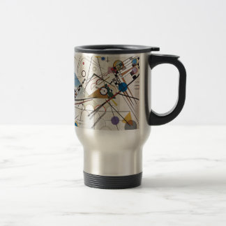 Kandinsky 1923/composition viii/pixdezines travel mug