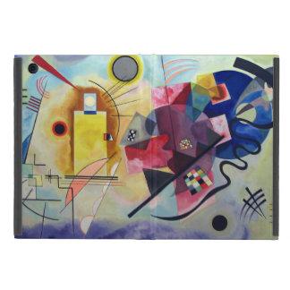 Kandinsky 1925/yellow/red/blue/pixdezines iPad mini coberturas