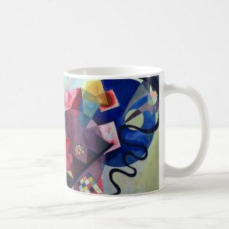 Kandinsky 1925/yellow/red/blue/pixdezines coffee mugs
