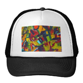 Kandinsky 304 Colorful Abstract Artwork Trucker Hat