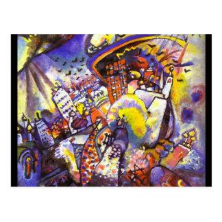 Kandinsky  3 postcard