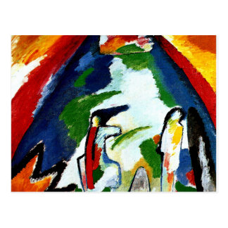Kandinsky - A Mountain Postcard