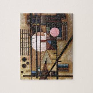 Kandinsky ablandó la construcción rompecabezas
