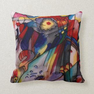 Kandinsky Abstract 1913 Throw Pillow