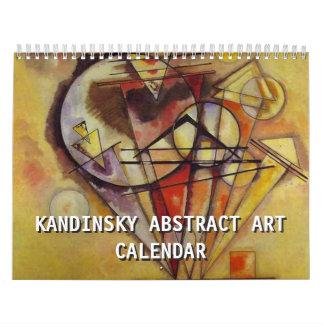 Kandinsky Abstract Art 2017 Calendar