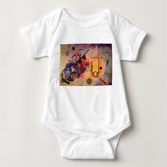 Kandinsky Abstract art Baby Bodysuit